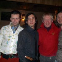 With the group''Shao-Bao'', Kyshyniv, 01.03.2004 before the concert