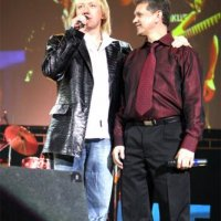 With songster Anatoly Figluk